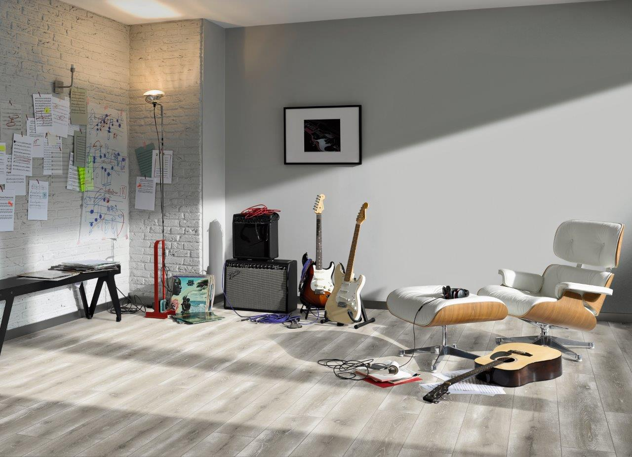 laminat classic 1050 eiche vintage grau woodi24. Black Bedroom Furniture Sets. Home Design Ideas