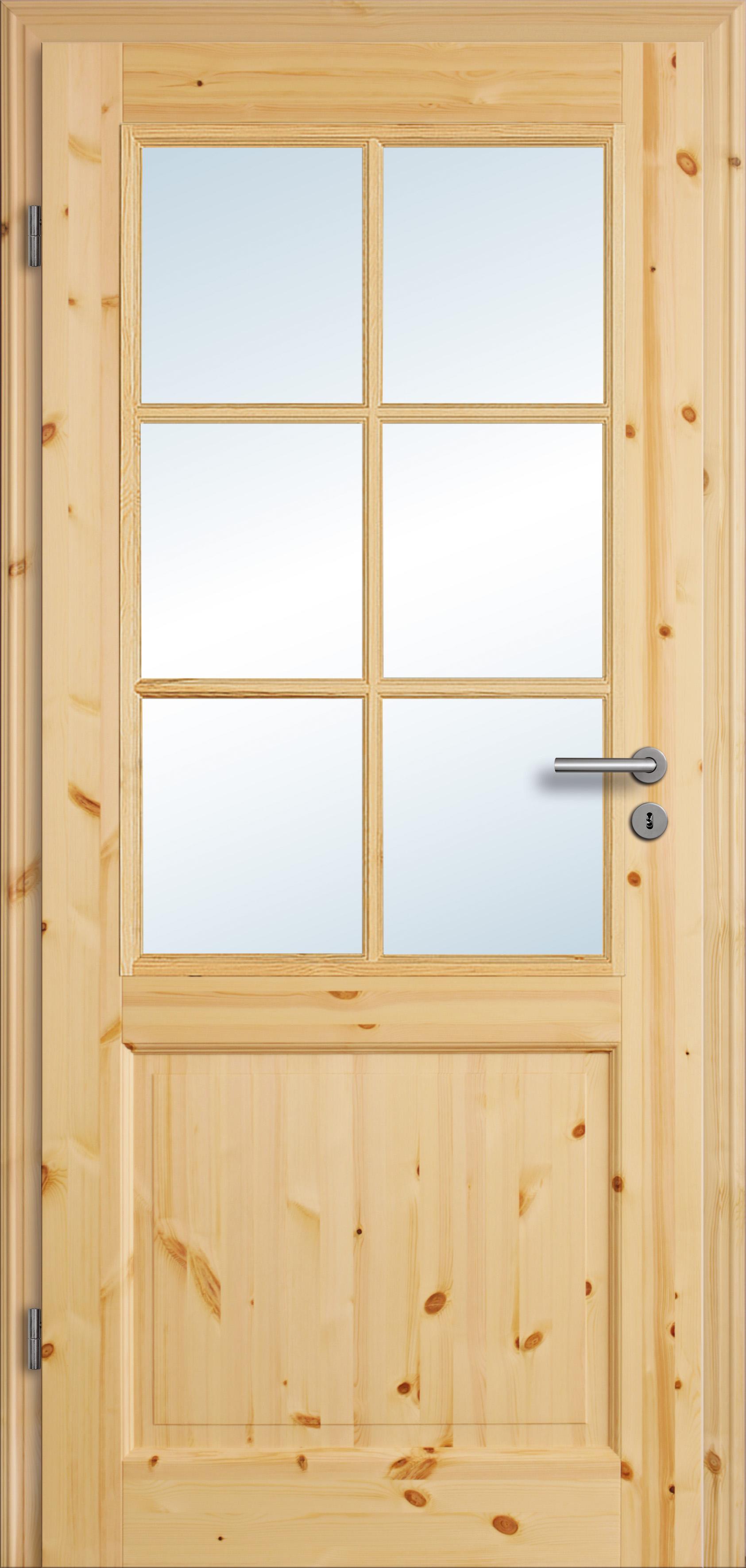 Unterschiedlich Zimmertür History 2G Kiefer Sprossen | Woodi24 IY45